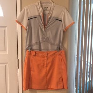 Izod matching skort (SZ 6) and golf top (Med) EUC